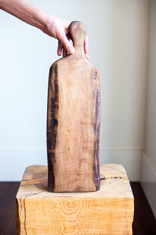 "Black Walnut ""paddle"" Board"