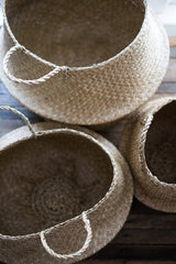 Seagrass Convertible Baskets (set of 3)