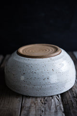 Large Hand Thrown Ceramic Bowl