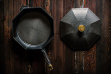 Load image into Gallery viewer, FINEX Cast Iron Skillet #castiron #handcrafted #camping #madeintheUSA