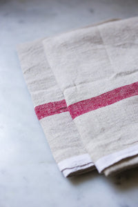 Laundered Linen Tea Towel | www.bowlandpitcher.com