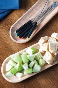 appetizer tray, Maple wood serving trays | www.bowlandpitcher.com #servingtray #boards