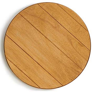 Maple Wood Lazy Susan | www.bowlandpitcher.com | #lazysusan #cheeseboard