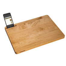 Load image into Gallery viewer, Kitchen Prep Board w/ tech slot | www.bowlandpitcher.com #prepboard