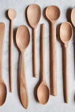 Load image into Gallery viewer, Handmade wood spoons are naturally antibacterial and safe for everyday use! #woodspoons