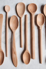large beechwood spoons www.bowlandpitcher.com