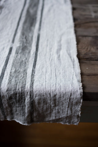 Washed Linen Runner