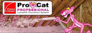 Pro Cat Professional Loose Fill Insulation System Pink Panther spraying attic insulation