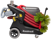 Load image into Gallery viewer, Rotobrush duct cleaning machine, assembled