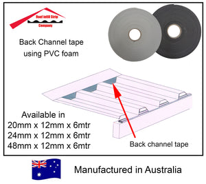 PVC foam tape (Lapseal & Back channel tape)