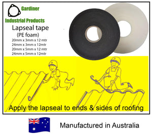 PE foam tape (Lapseal, Purlin & Back channel tape)