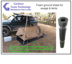 Tent & swag foam ground sheet