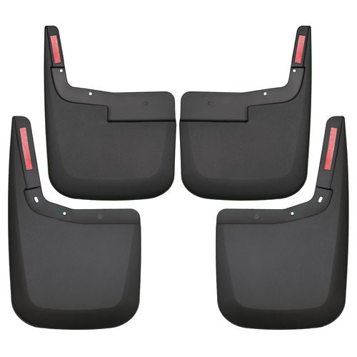 Front and Rear Mud Guard Set