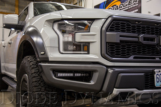 2017+ Ford Raptor Fog Brackets And Light Bars - Apollo Optics, Inc.