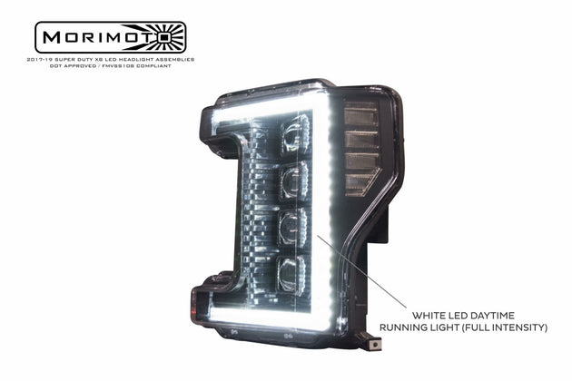2017+ Ford Super Duty: XB LED Headlights