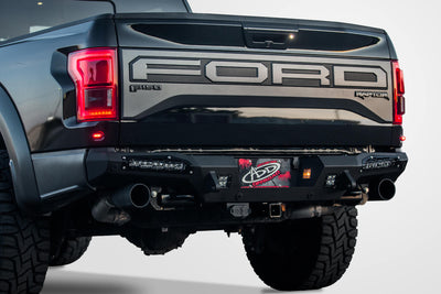 "2017-2018 Ford Raptor HoneyBadger Rear Bumper (10"" Lights) - Apollo Optics, Inc."