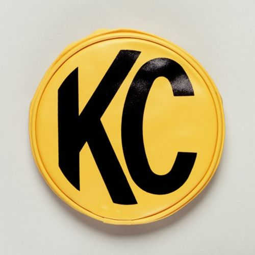 "6"" Vinyl Cover - KC #5101 (Yellow with Black KC Logo)"