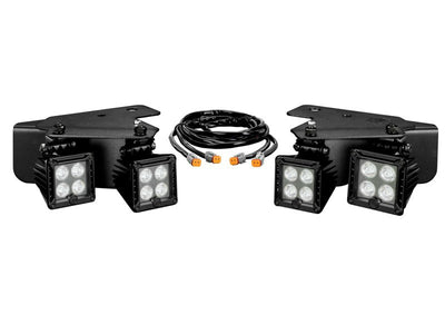 LZR LED Cube Bumper Light Pair Pack System for Ford Raptor (2010-2014) - Apollo Optics, Inc.