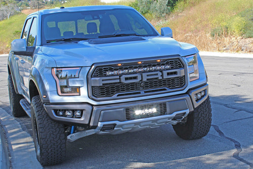 "2017+ Ford Raptor 10"" OnX6+ Lower Grille Kit - 447557 - Apollo Optics, Inc."