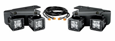 C-Series C3 LED Cube Bumper Light Pair Pack System for Ford Raptor (2010-2014) - Apollo Optics, Inc.