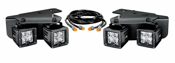 C-Series C3 LED Cube Bumper Light Pair Pack System for Ford Raptor (2010-2014)