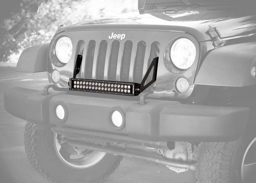"20"" C Series C20 LED Bar & Grille Mount Bracket Kit - Jeep JK 07-15 - Apollo Optics, Inc."