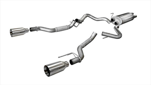 Corsa Performance 2017-2018 Ford Raptor Sport Cat-Back Exhaust System - 14397 - Apollo Optics, Inc.