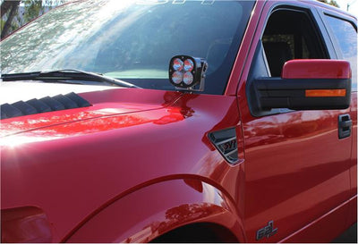 Ford F-150/Raptor Hood Mount Kit (2004-2014) - Apollo Optics, Inc.