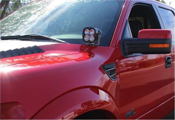 Ford F-150/Raptor Hood Mount Kit (2004-2014)