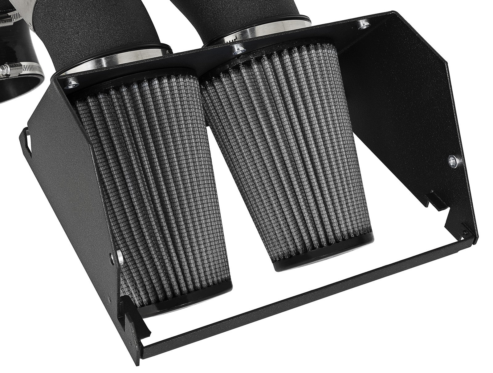 aFe POWER 51-12882-B Magnum FORCE Stage-2 Pro Dry S Cold Air Intake System - Wrinkle Black