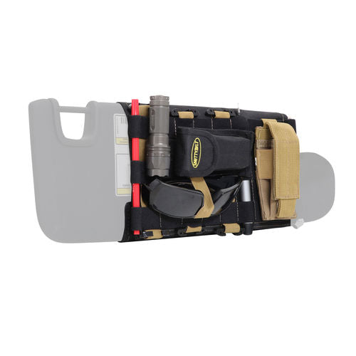Smittybilt GEAR Sunvisor Organizer Cover  (Pair)  JK and JL