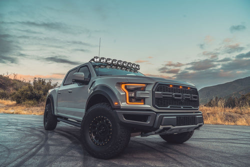 "2017+ Ford Raptor Pro6 Gravity LED 9-Light 57"" Light Bar Kit - 91333 - Apollo Optics, Inc."