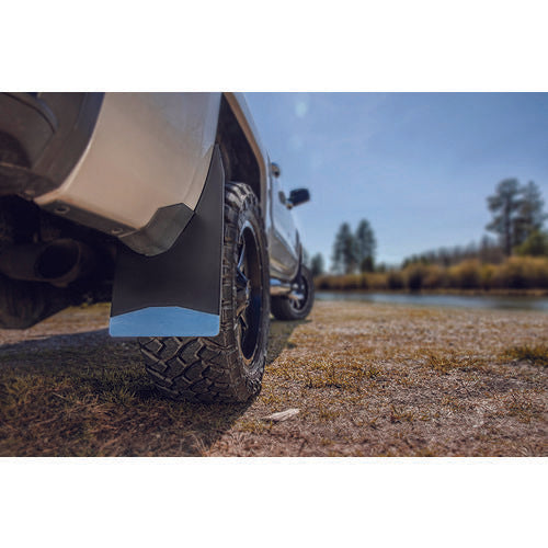 "Universal Mud Flaps 12"" Wide - Black Weight"
