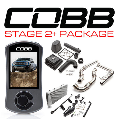 COBB Power Package Stage 2+ Silver F-150 Raptor 2017-2018