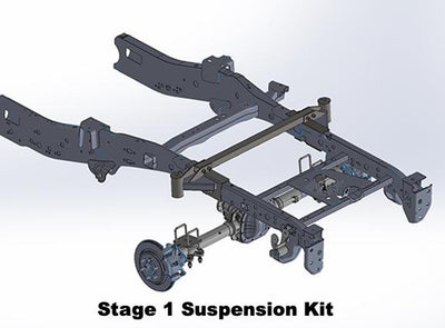Stage 1/Stage 2 Rear Suspension Kit 2017-2020 Raptor
