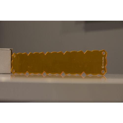 "Shield for KC FLEX 10"" Array (Amber)"