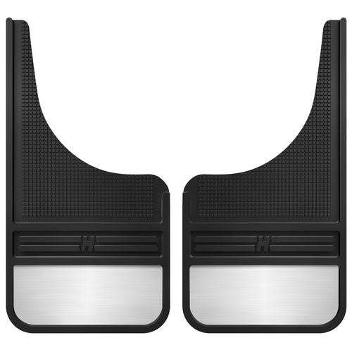 Rubber Front Mud Flaps - 12IN w/ Weight