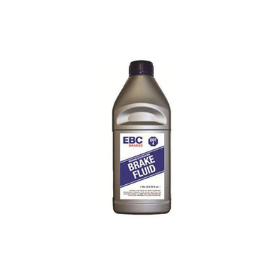 1 liter bottle of EBC Brakes DOT-4 glycol fluid