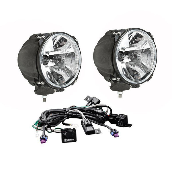 Carbon Pod HID Light Pair Pack System