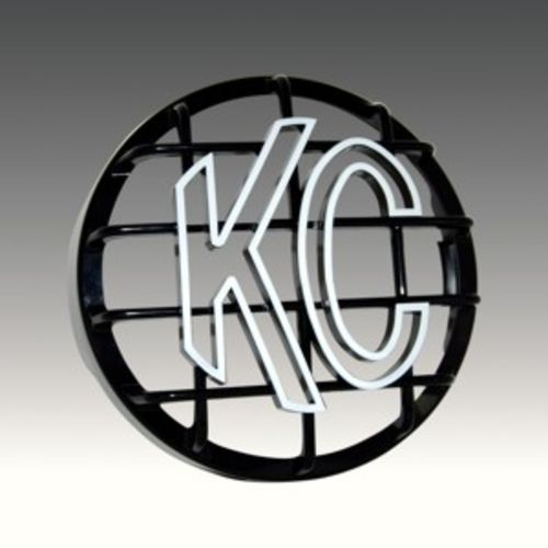 "8"" Stone Guard - KC #7214 (Black with White KC Logo)"