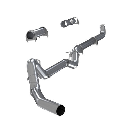 MBRP Exhaust S6004SLM 4in. Down Pipe Back; EC/CC; Off Road-no muffler; Single; T409 Stainless Steel
