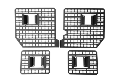 Bedside Rack System 4-Panel Kit, Ford F-Series Trucks