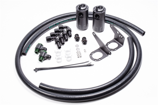 Dual Catch Can Kit, PCV and CCV, 2015+ Ford F-150/Raptor
