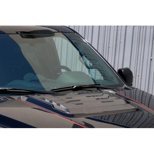 APR Performance CF-207005 Carbon Fiber Hood Vent Ford Raptor 2017-Up
