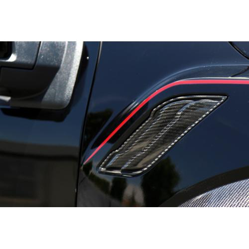 APR Performance CF-207005 Carbon Fiber Fender Vents Ford Raptor 2017-Up