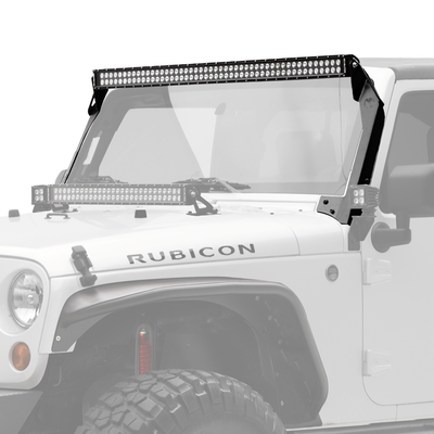 "50"" C Series C50 LED Bar & Overhead Mount Bracket Kit - Jeep JK 07-15 - Apollo Optics, Inc."