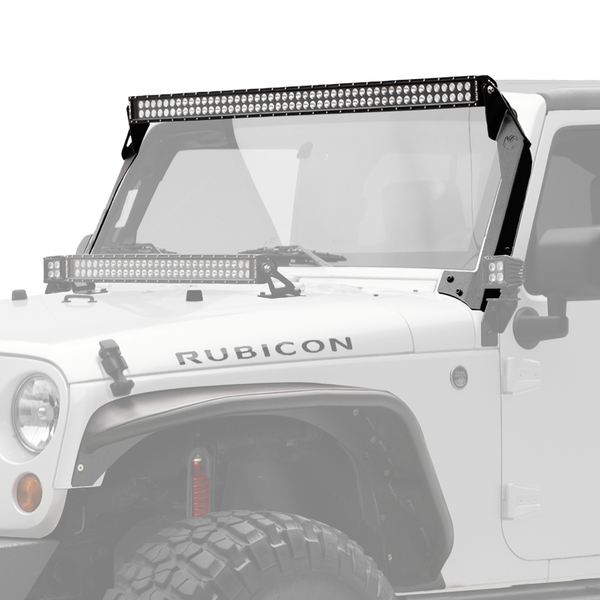 "50"" C Series C50 LED Bar & Overhead Mount Bracket Kit - Jeep JK 07-15"