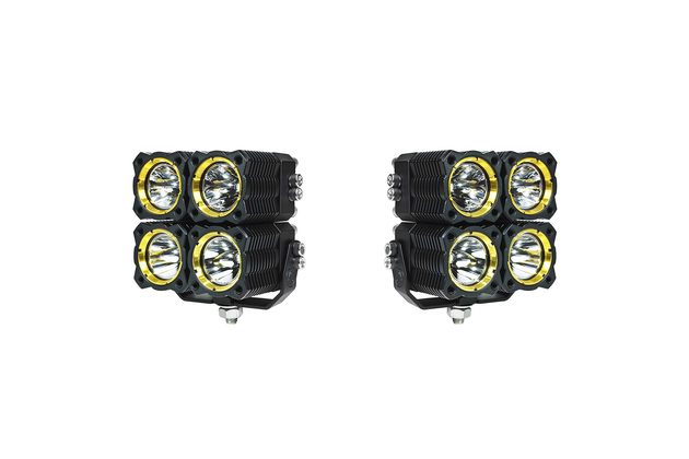 Flex Quad LED Combo Beam System (pair) - Apollo Optics, Inc.