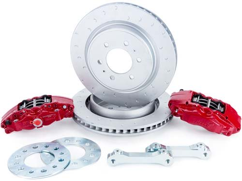 Ford F-150/Raptor Rear Brake Kit - CE-BKR5059D07 - Apollo Optics, Inc.