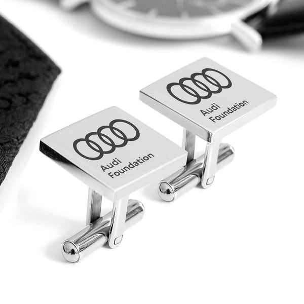 Corporate custom cufflinks - Alexa Lane
